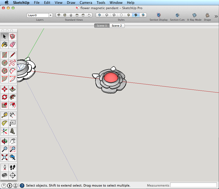Jewelry design with SketchUp Pro