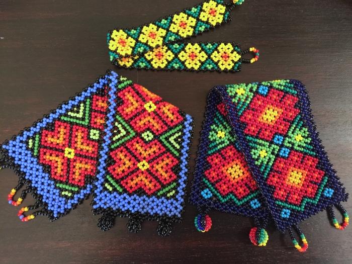 Three Huichol Bracelets