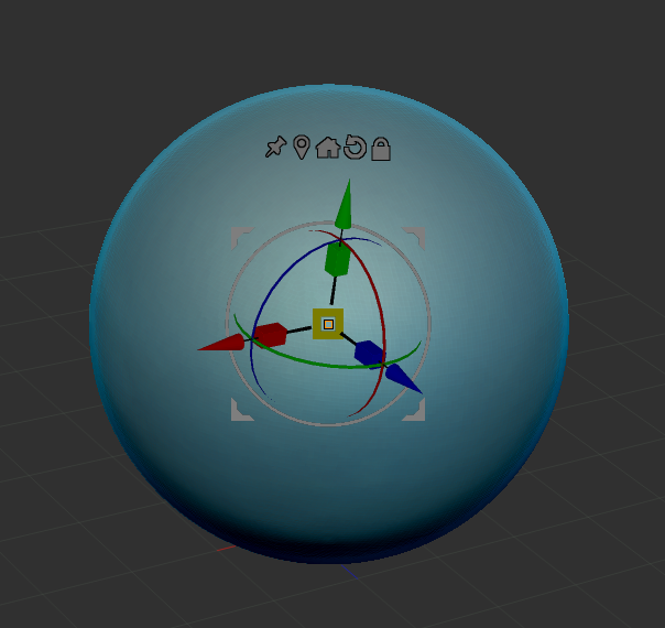 New Gizmo 3D tool