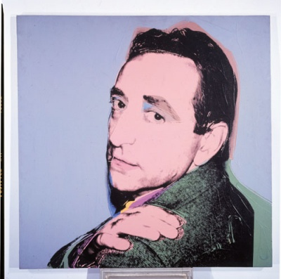 Andy Warhol silkscreen of his friend, Lucio