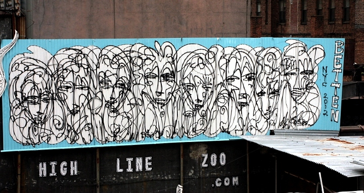 Jordan Betten, Highline Zoo, Chealsea NYC