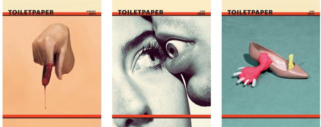 Maurizio Cattelan & Pierpaolo Ferrari, Toilet Paper Magazine, Bi-Annual Issues