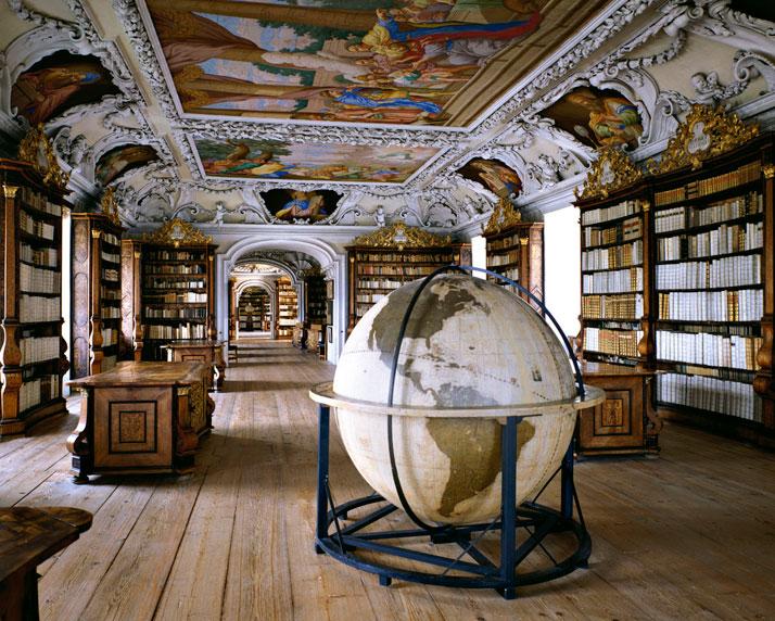 Massimo Listri,  Biblioteca del Abbazia di Kremsmunster, Germany, 1994.  Ed. of 5