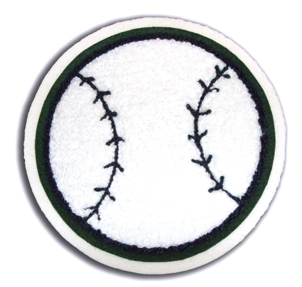 Baseball Letterman Patch