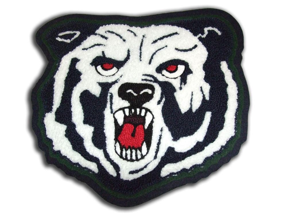 Tiger Chenille Letter for Utah Letterman Jacket