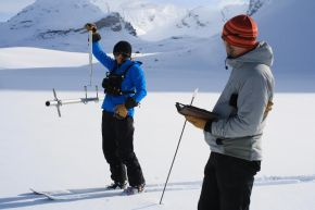 snow pack monitoring...