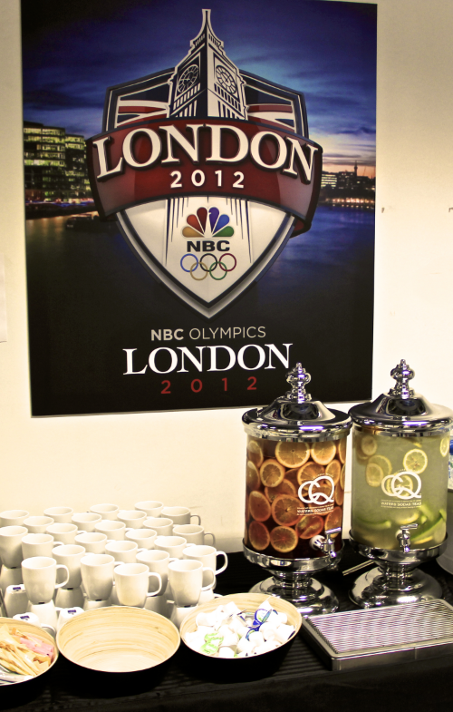 CQ Infused Waters, NBC Production Crew London 2012 Olympic Games