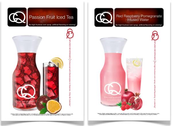 Susan G. Komen Race for the Cure CQ Beverage Menu