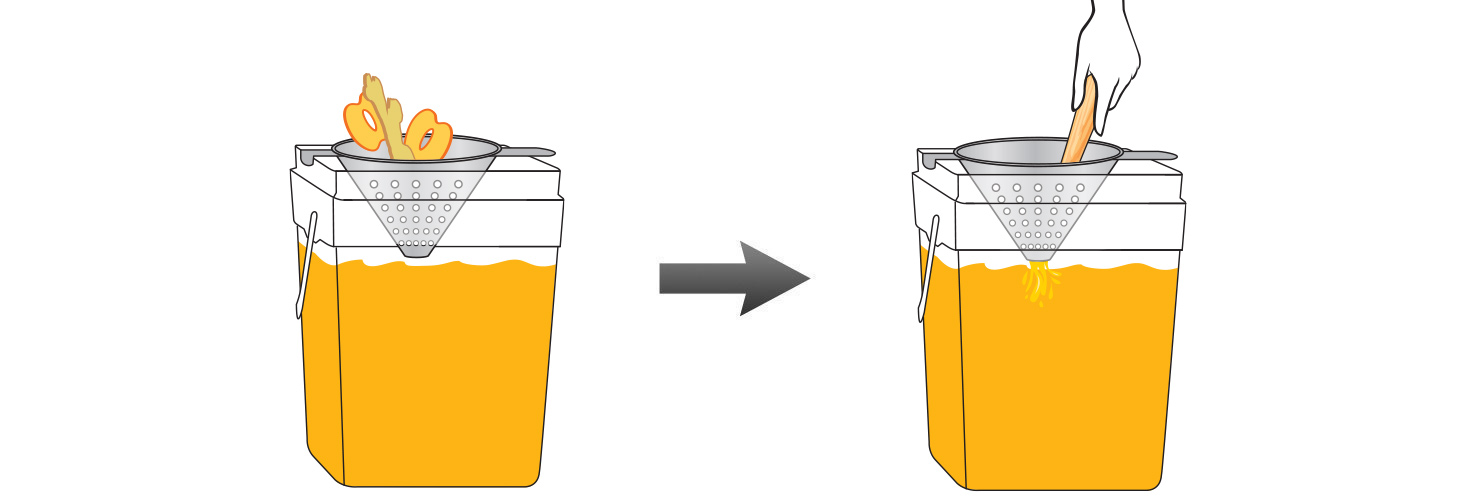 CQ-Peach-Grape-Ginger-Juice-Infusions-Recipe-Step-4-Infuse-Water-Peaches-Ginger