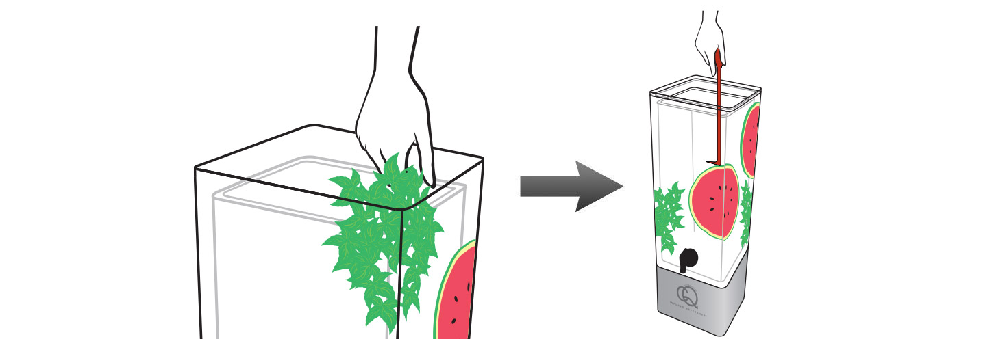 CQ-Strawberry-Watermelon-Mint-Infused-Water-Recipe-Step-2-Add-Fruit-Into-BPA-Free-Infusion-Jar