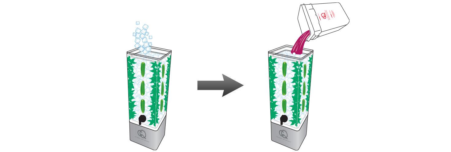 CQ-Black-Raspberry-Açaí-Jalapeno-Mint-Infused-Water-Recipe-Step-5-Fill-BPA-Free-Beverage-Dispenser-Black-Raspberry-Açaí-Jalapeno-Mint-Infused-Water