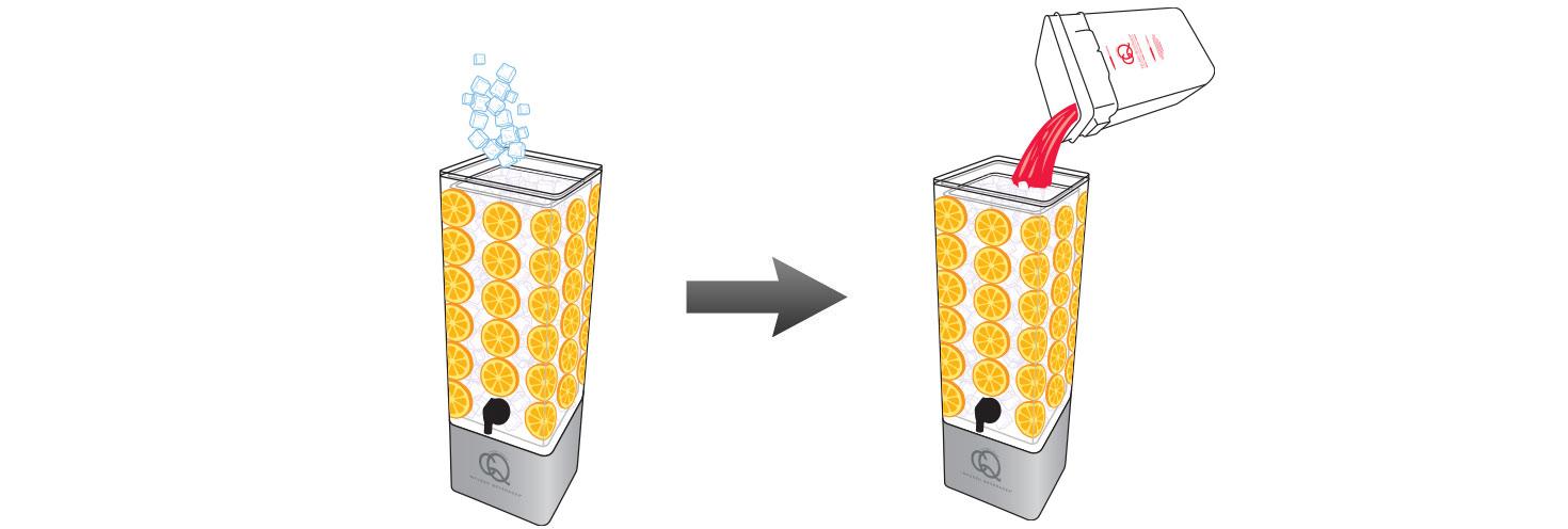 CQ-Red-Raspberry-Pomegranate-Orange-Infused-Water-Recipe-Step-5-Fill-BPA-Free-Beverage-Dispenser-Red-Raspberry-Pomegranate-Orange-Infused-Water