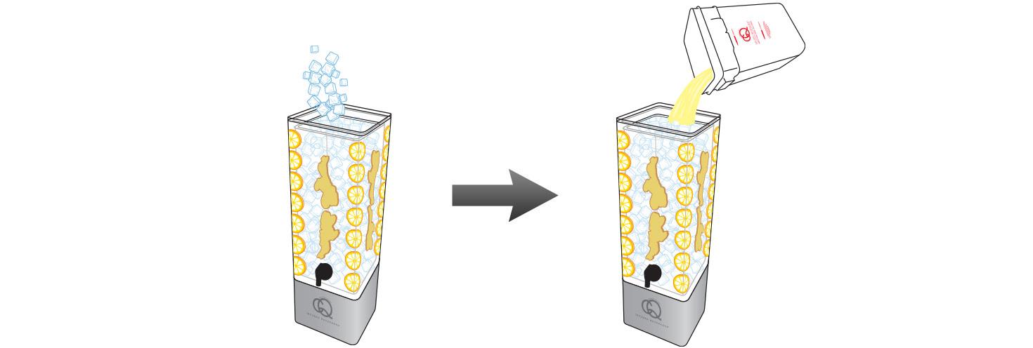 CQ-Lemon-Ginger-Spa-Water-Recipe-Step-5-Fill-BPA-Free-Beverage-Dispenser-Lemon-Ginger-Spa-Water