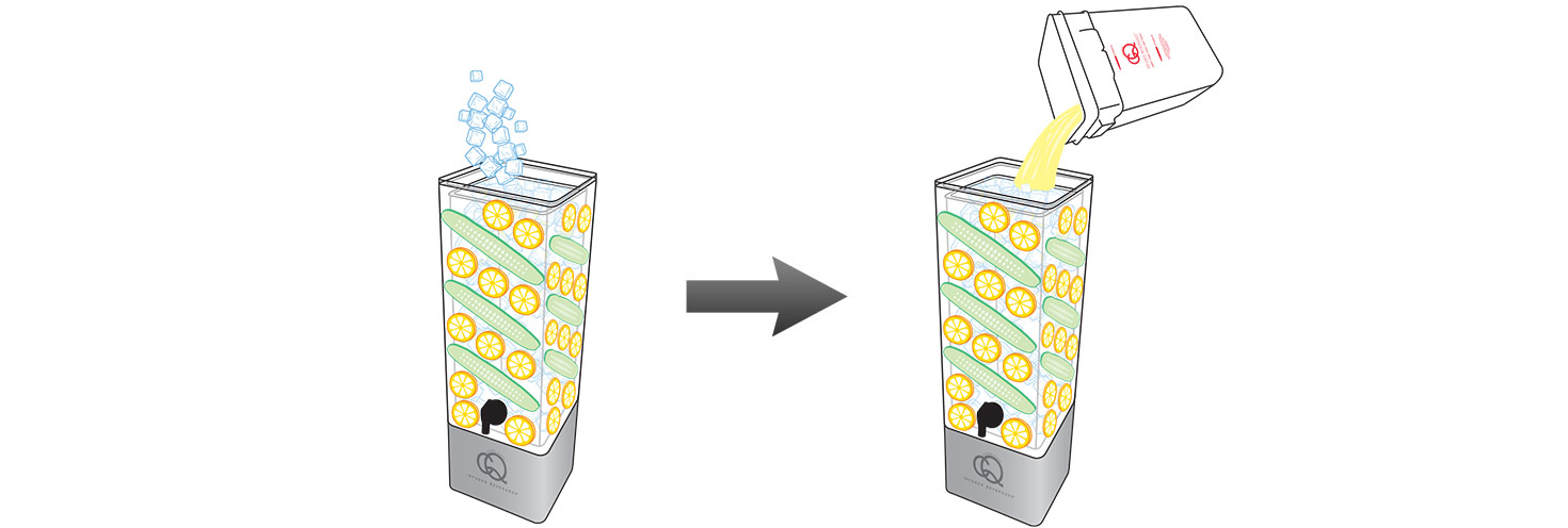 CQ-Lemon-Cucumber-Spa-Water-Recipe-Step-5-Fill-BPA-Free-Beverage-Dispenser-Lemon-Cucumber-Infused-Water