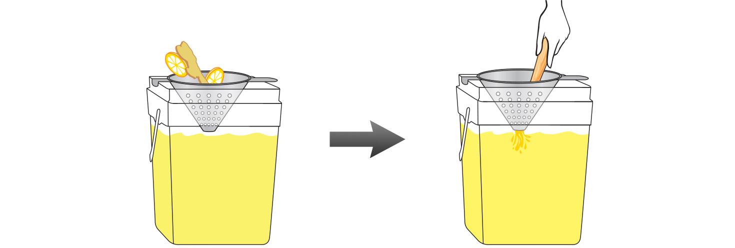 CQ-Lemon-Ginger-Spa-Water-Recipe-Step-4-Infusing-Water-Fresh-Lemons-Ginger