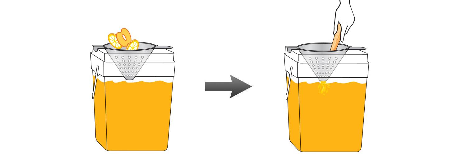 CQ-Peach-Lemon-Spa-Water-Recipe-Step-4-Infusing-Water-Fresh-Peach-Lemon.jpg