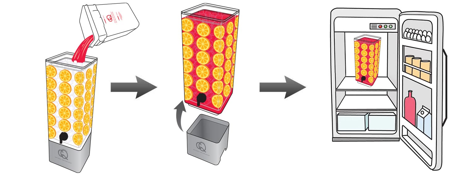 CQ-Red-Raspberry-Pomegranate-Orange-Spa-Water-Recipe-Step-6-CQ-Refresh-Refrigerate-Reuse