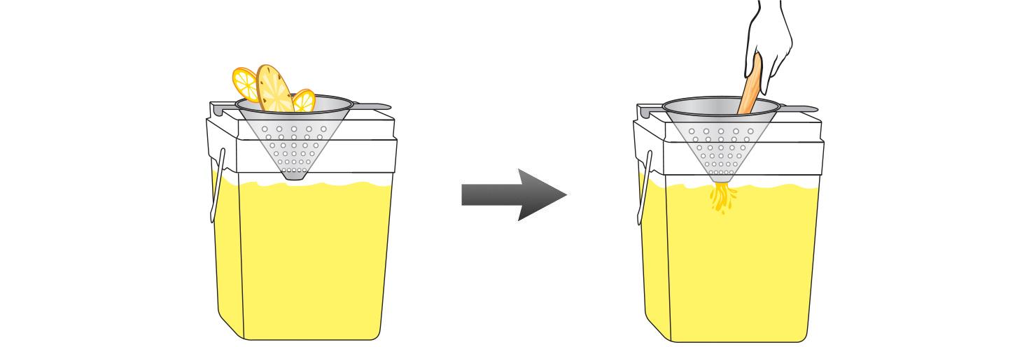 CQ-Lemon-Pineapple-Cayenne-Spa-Water-Recipe-Step-4-Infusing-Water-Fresh-Lemons-Pineapple-Cayenne