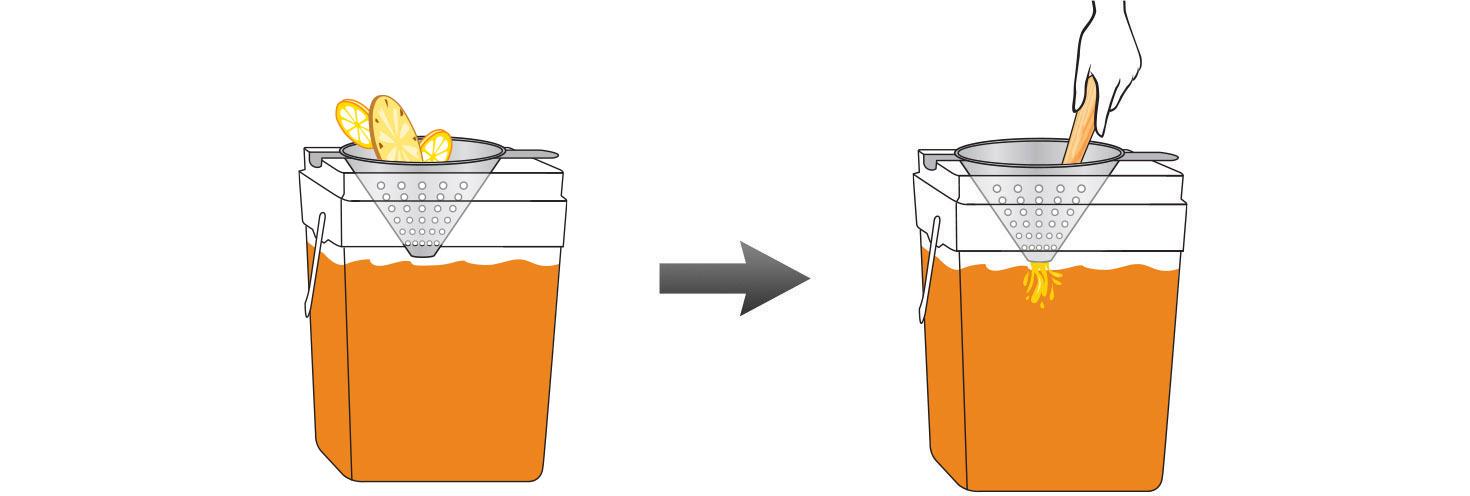 CQ-Lemon-Pineapple-Iced-Tea-Recipe-Step-4-Infusing-Water-Fresh-Lemon-Kiwi