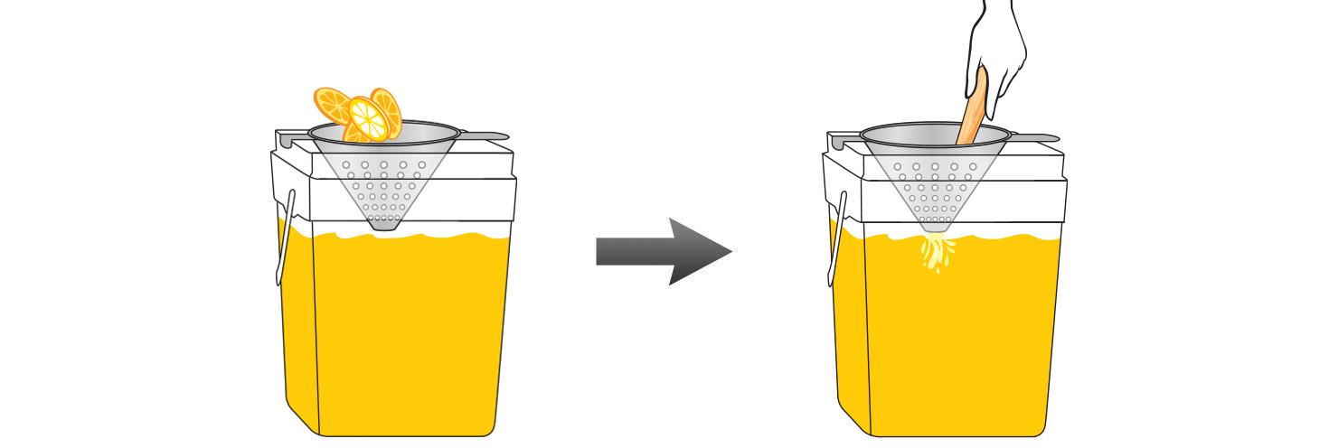 CQ-Lemon-Orange-Juice-Infusions-Recipe-Step-4-Infusing-Water-Fresh-Lemon-Orange