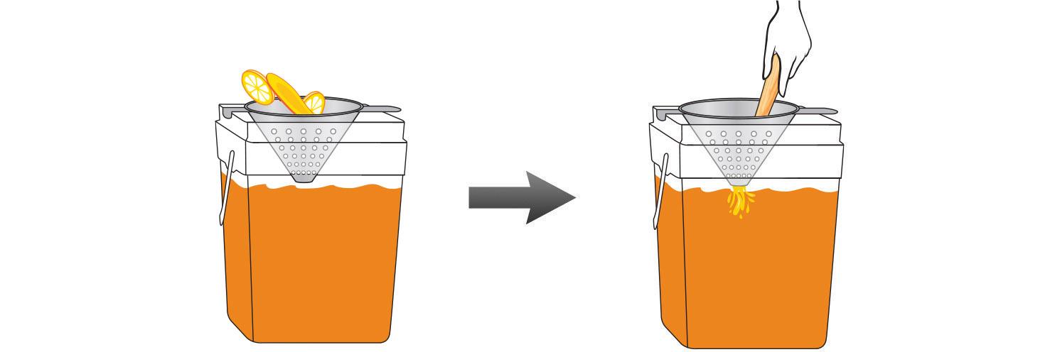 CQ-Lemon-Mango-Iced-Tea-Recipe-Step-4-Infusing-Water-Fresh-Lemon-Kiwi