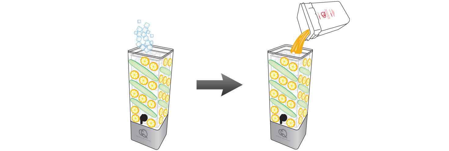 CQ-Lemon-Cucumber-Iced-Tea-Recipe-Step-5-Fill-BPA-Free-Beverage-Dispenser-Peah-Lemon-Cucumber-Iced-Tea