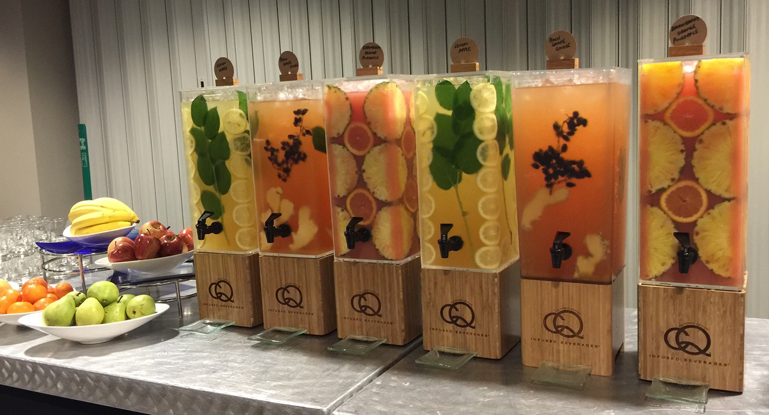 CQ Juice Infusions Featured at the 2015 Hyatt iLead Meeting