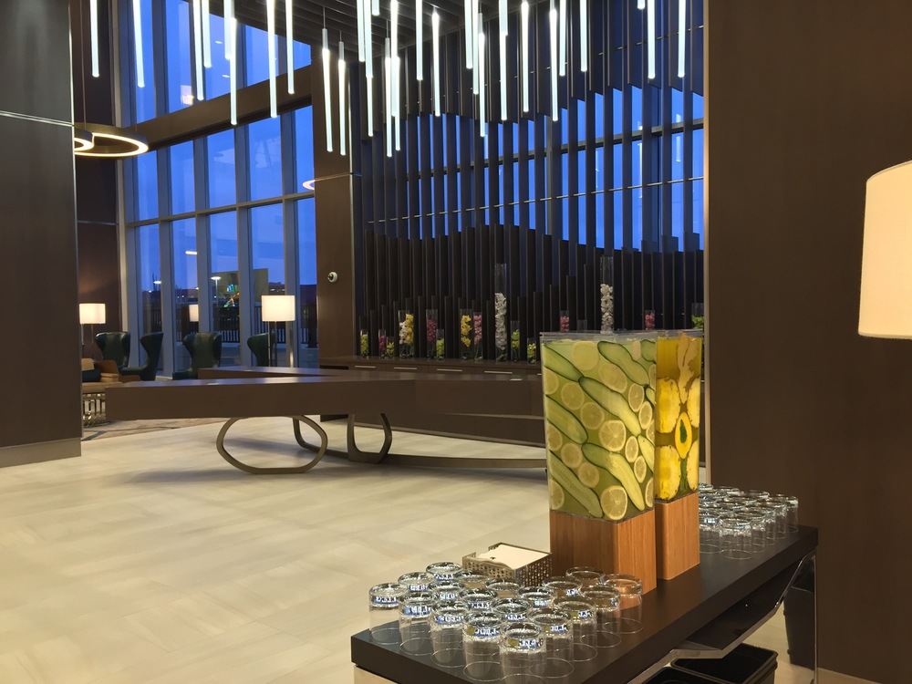 CQ Infused Welcome Water, JW Marriott Minneapolis Mall of America