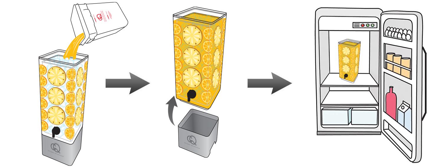 Mango-Pineapple-Orange-Infused-Water-Recipe-Step-6-CQ-Refresh-Refrigerate-Reuse