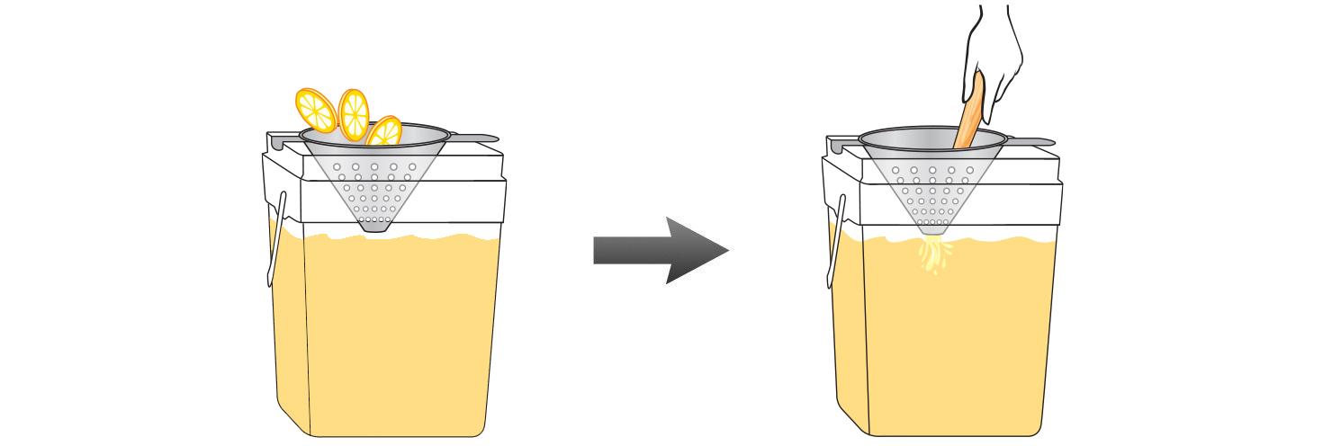 CQ-Lemon-Cinnamon-Pineapple-Juice-Infusions-Recipe-Step-4-Infusing-Water-Fresh-Lemon-Apple