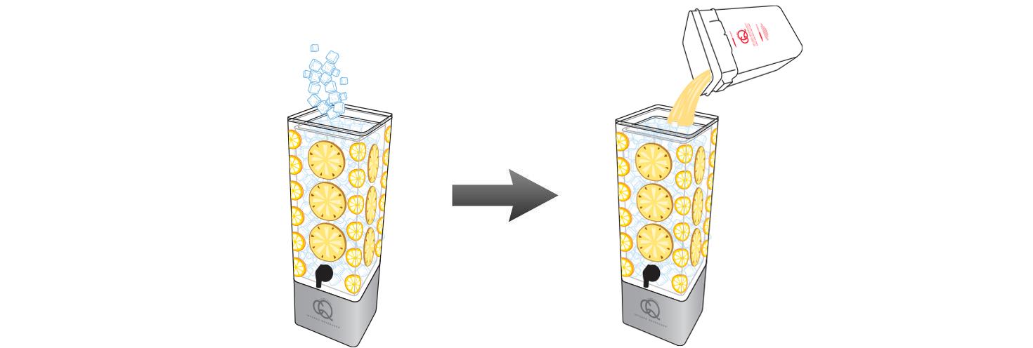 CQ-Lemon-Cinnamon-Pineapple-Juice-Infusions-Recipe-Step-5-Fill-BPA-Free-Beverage-Dispenser-Lemon-Apple-Infused-Water