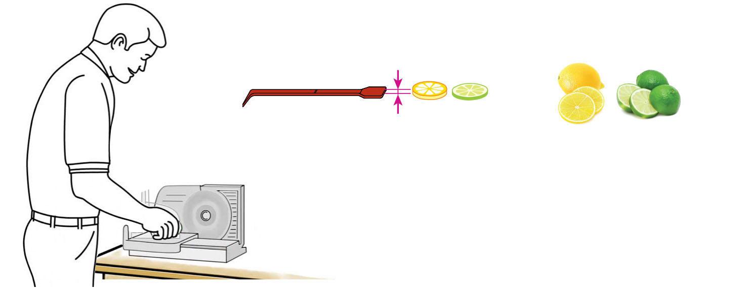 Hibiscus-Margarita-Mix-Cocktail-Mixer-Recipe-Step-1-Cut-Fruit-Using-CQ-Slicer-Key
