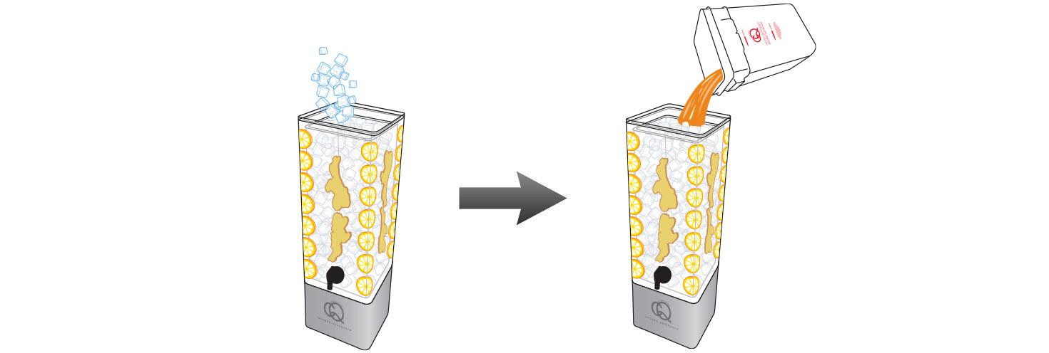 CQ-Lemon-Ginger-Iced-Tea-Recipe-Step-5-Fill-BPA-Free-Beverage-Dispenser-Peah-Lemon-Ginger-Iced-Tea.jpg