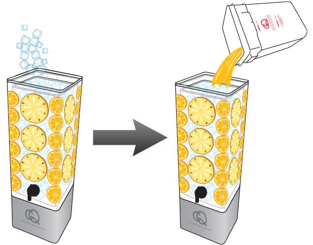 CQ-MANGO-PINEAPPLE-ORANGE-Infused-Water-Recipe-Step-5-Fill-BPA-Free-Beverage-Dispenser-MANGO-ORANGE-Infused-Water.jpg