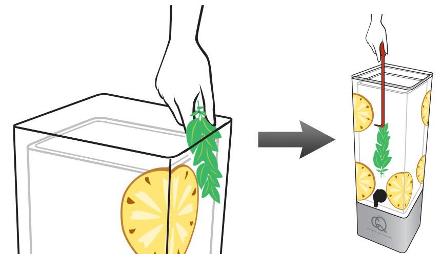 Peach Pineapple Basil Infused Lemonade 2.jpg