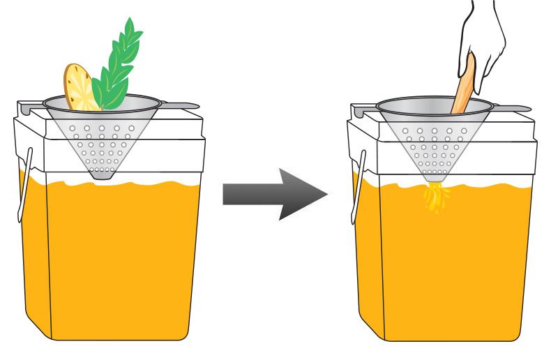 Peach Pineapple Basil Infused Lemonade 3.jpg