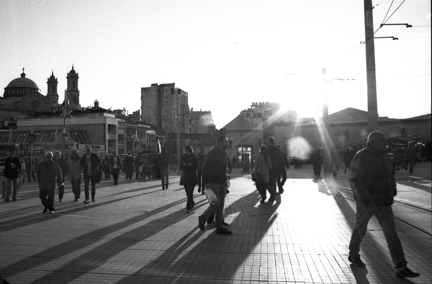 Taksim Square, the heart of Istanbul. A historically important venue for political dissent, Taksim was at the center of the Gezi Park protests of 2013.