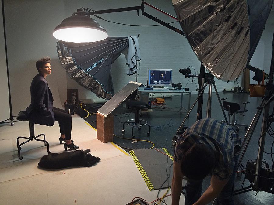 Studio shoot with Singer Mackenzie Johnson
