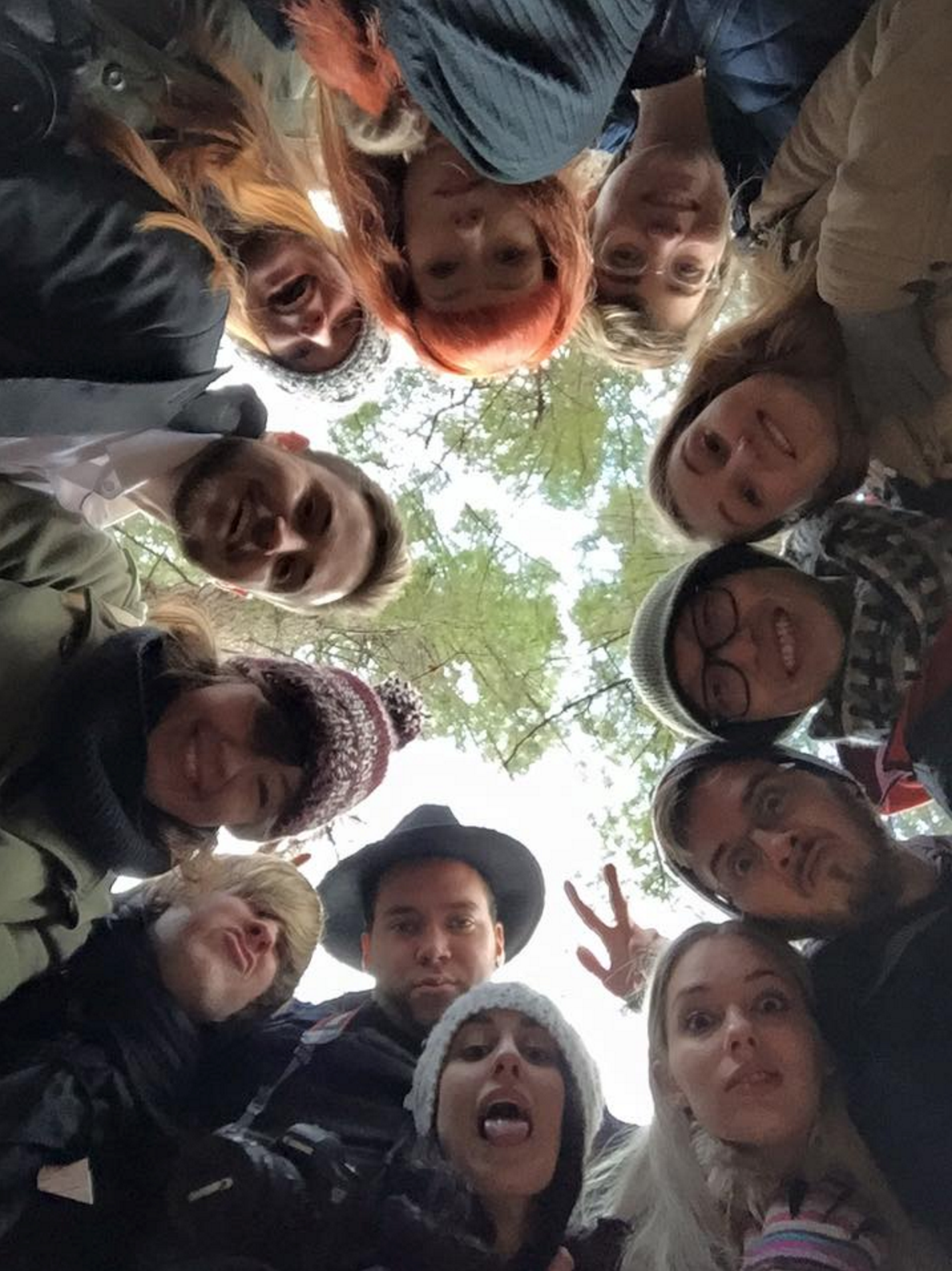 WGFG2015 Group shot from below
