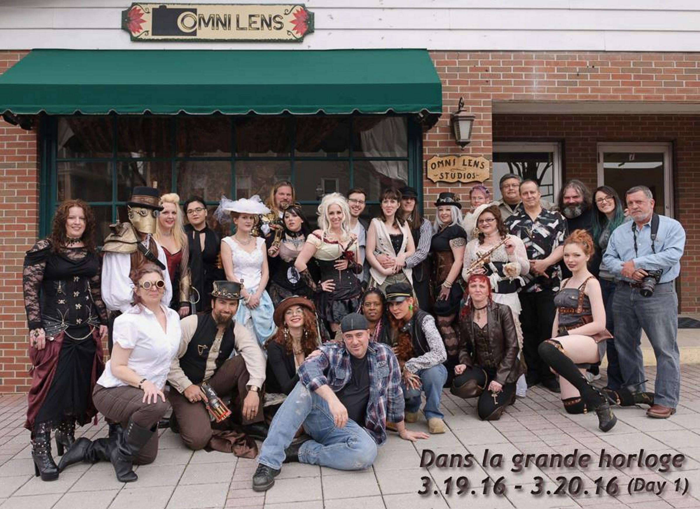 Omni Lens Studios steam punk group shot