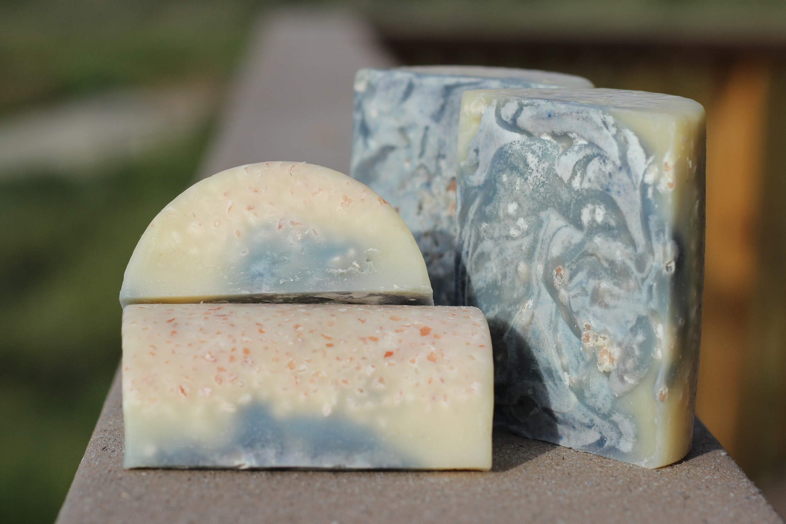 Wasabi Moon Salt Bars -  Sold