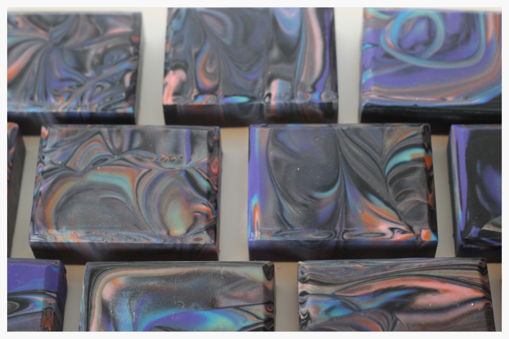 Aurora Borealis Cold Process Soap