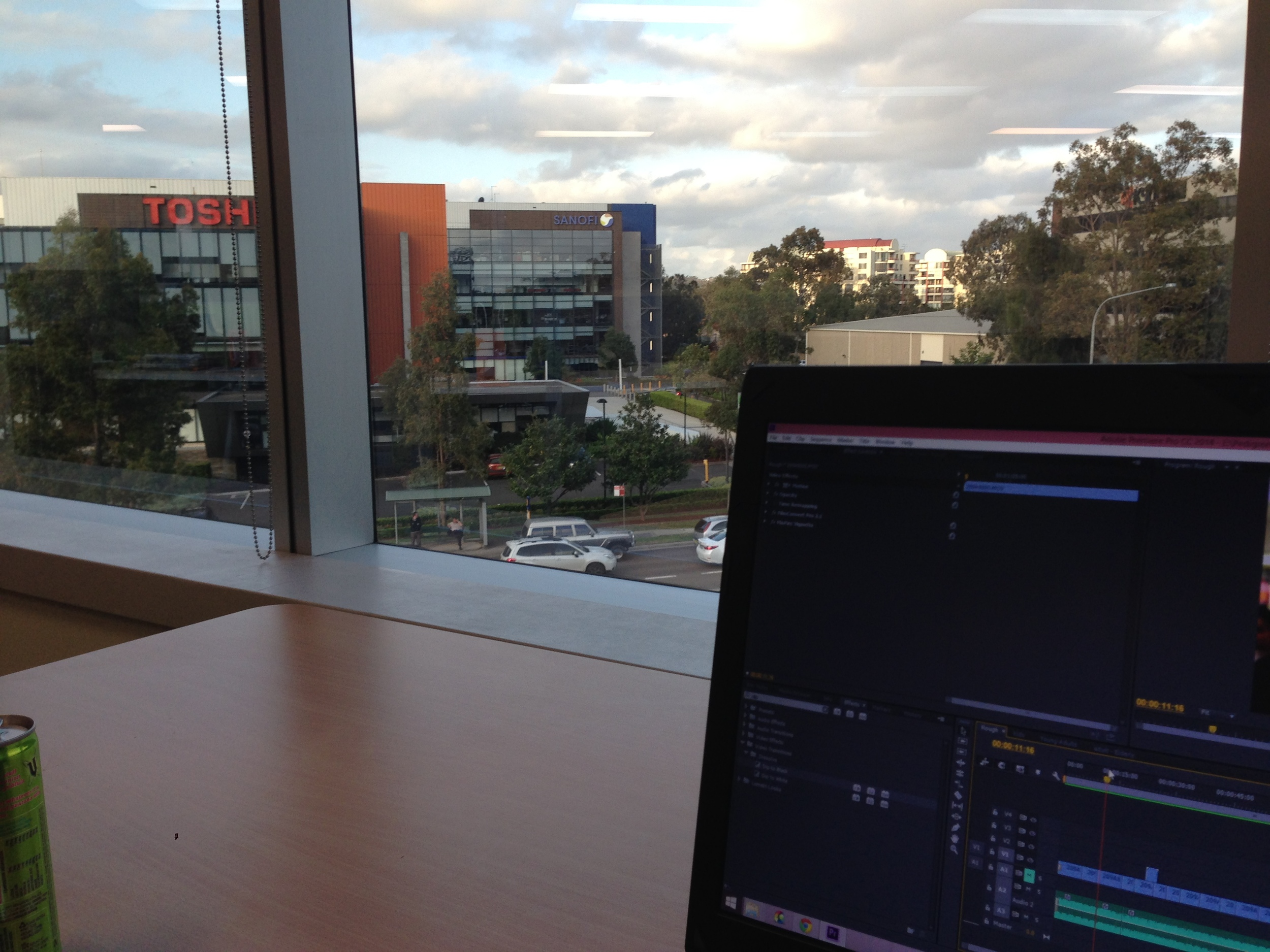 View from my edit spot