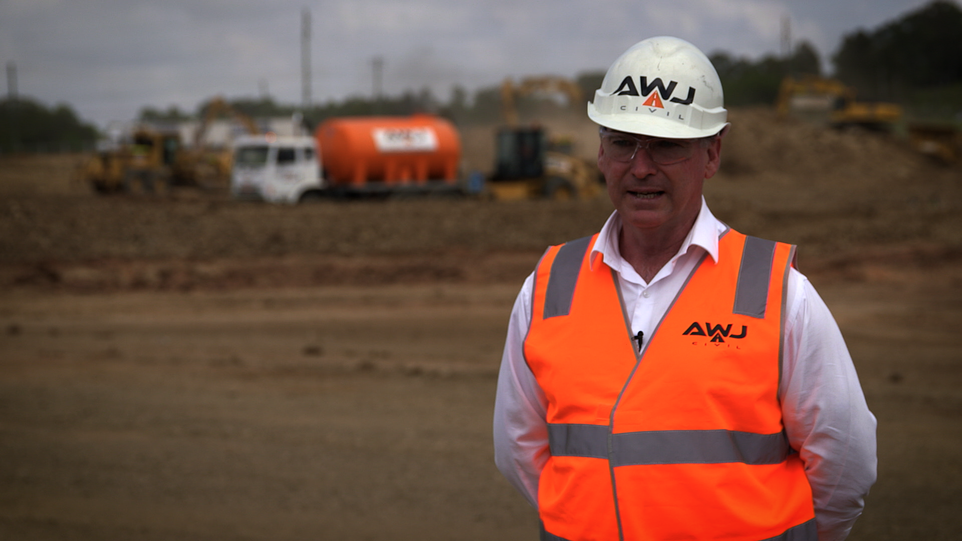 Martin O'Connell, Co-owner of AWJ Civil