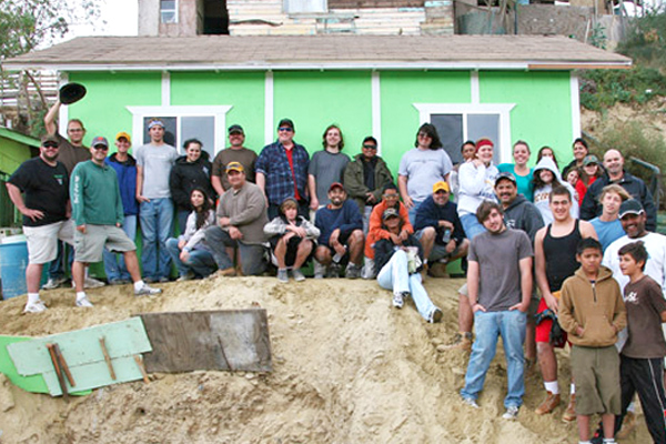 Building a home in Mexico