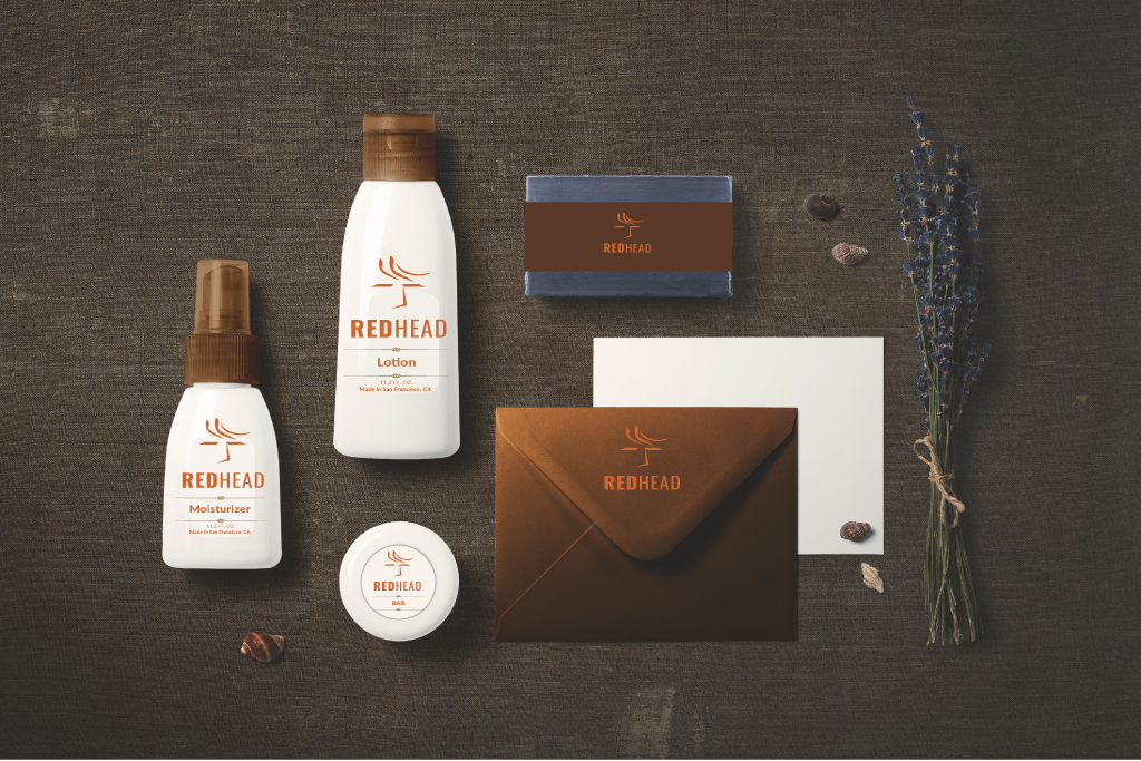 Redhead Day Promotional Giveaways | Lotion, Moisturizer, Soap, Gift Certificate