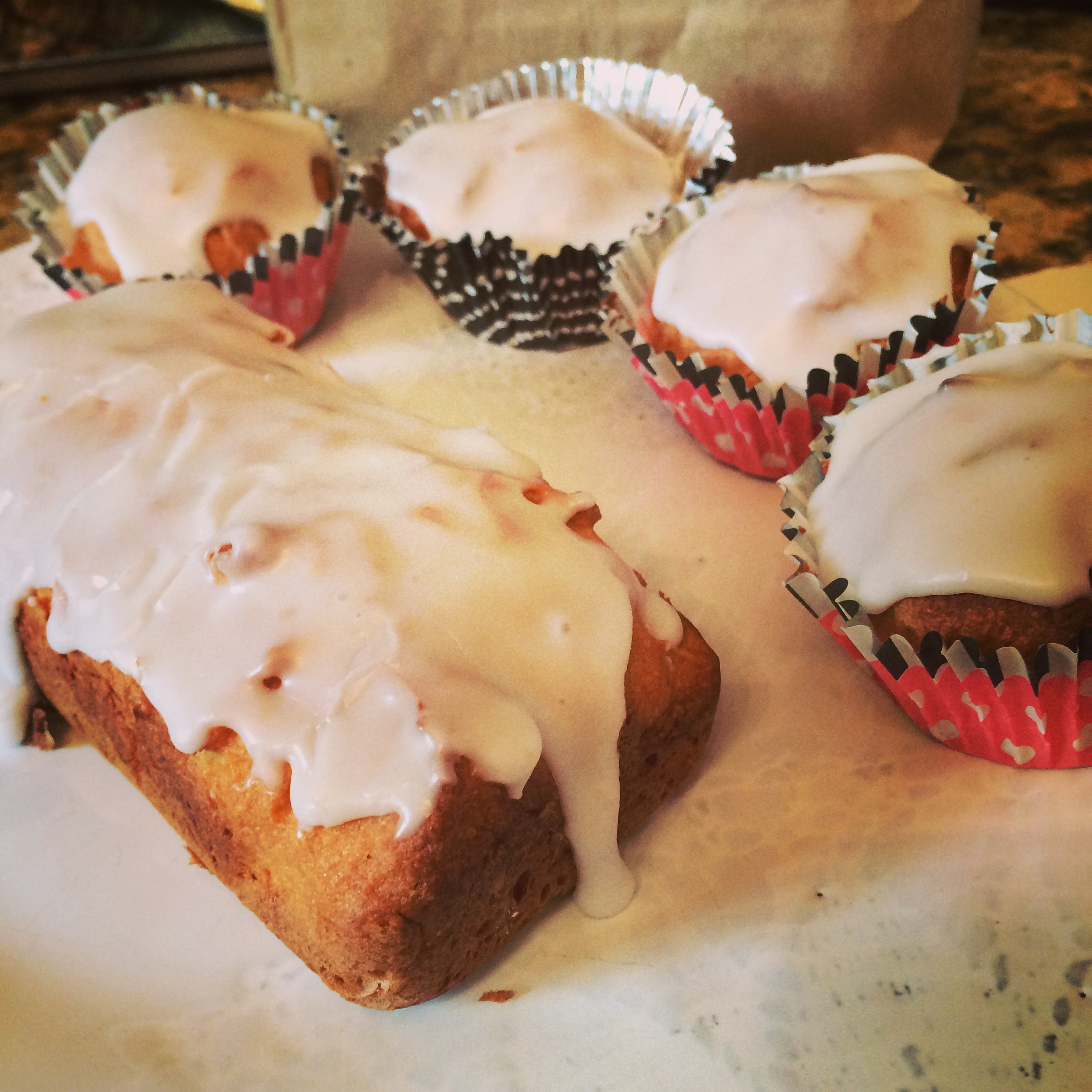 Gluten Free Breakfast Cakes and Loaf