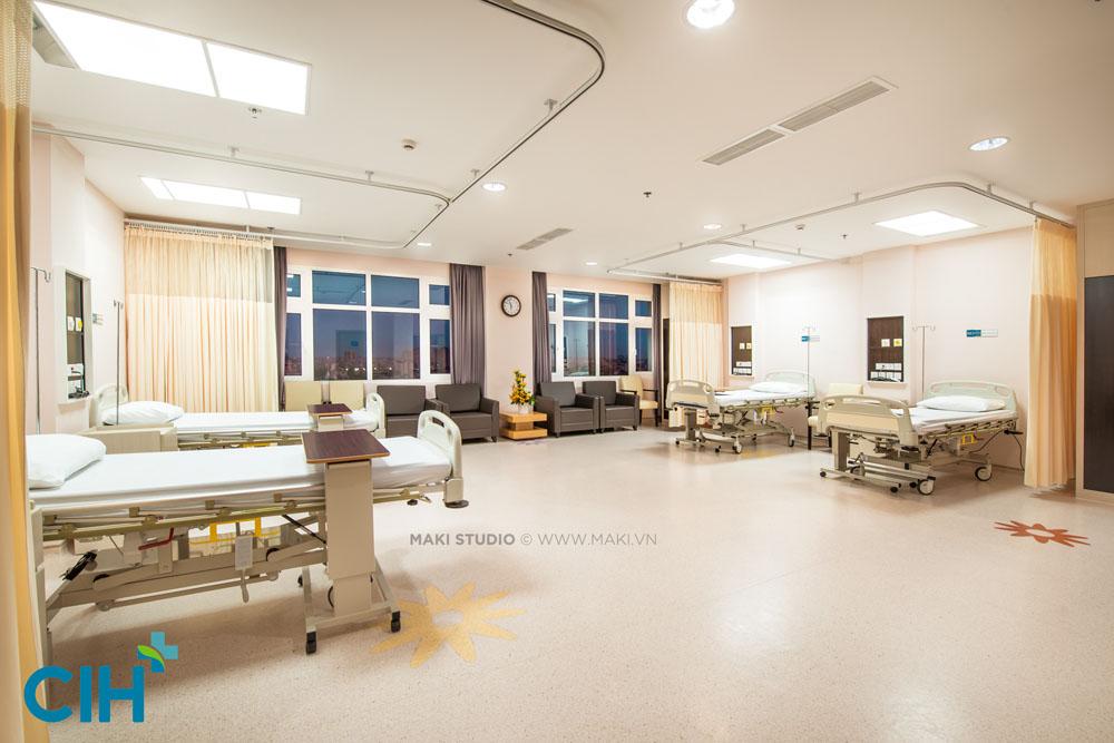 Chụp hình cơ sở vật chất cho bệnh viện CIH. Ảnh: MAKI.vn
