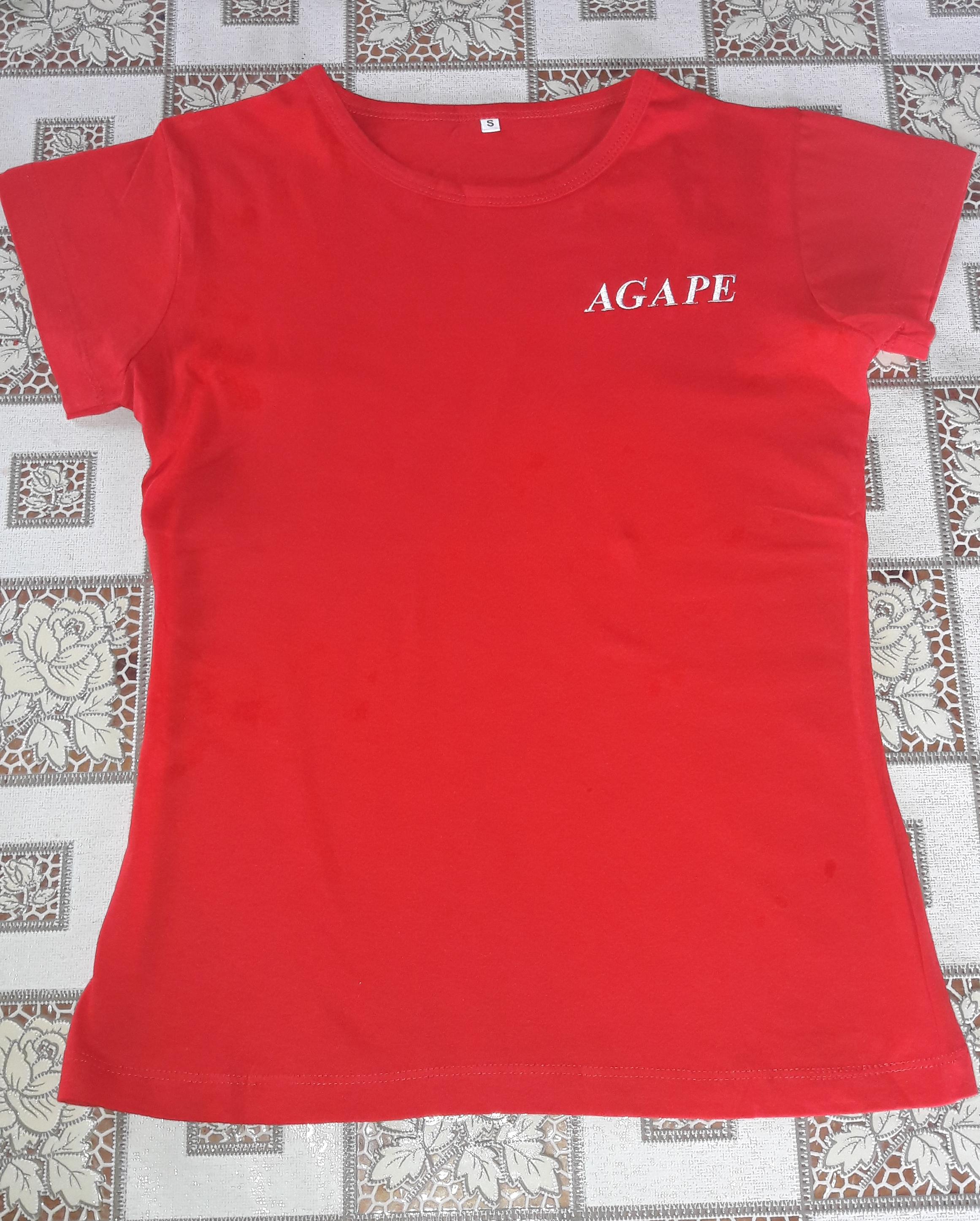 #tx 170021 aGAPE t-sHIRT (RED)  dONATION: $20 usd
