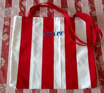 #TX 180004 Agape Tote Bag  Donation: $25 USD